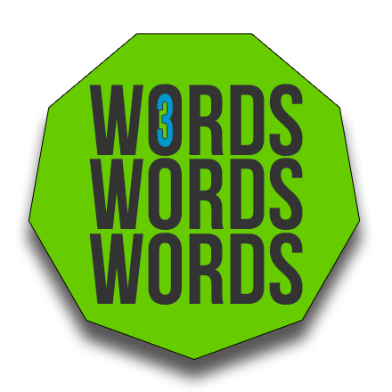 3-Words-logo